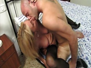 Italian Mom Seduces Her Son