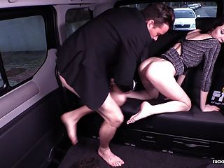Fucked In Traffic - Car Sex With Beautiful Russian Babe