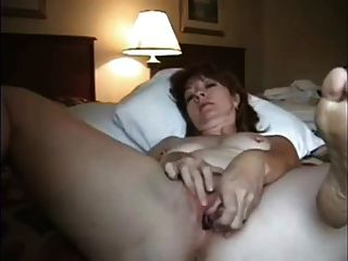 Lonely Milf In Hotel Sends Webcam Fap Vid To Hubby