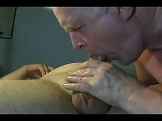 Homemade Grandpa Blowjob Is Hot