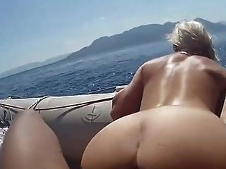 Not Mom And Son Get A Boat