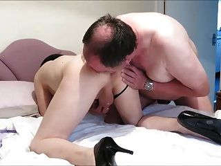 Tranny Begging For Cock