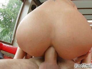 Ass Traffic Nomi Melone Swallows Huge Jizz Load After Ass