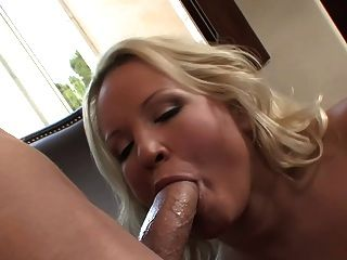 Blonde Mature Milf Natural Big Tits In Fishnet