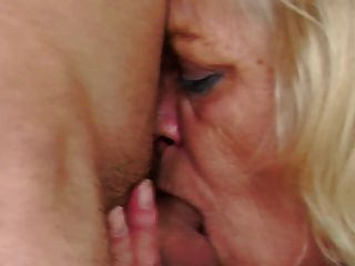Horny Granny Seduces Teen Boy
