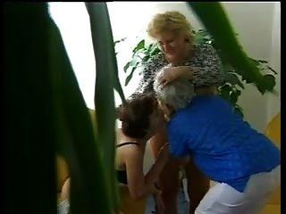 Three Hairy Grannies Having Fun