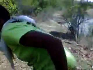 Desi Randi Fucked Outside Says Gaand Nahi Maarne Dungi
