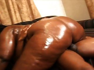 Black Bbw Oiled Ass