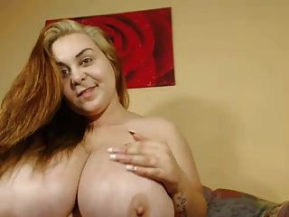 Huge Tits On Beautiful Camgirl