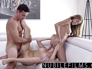 Nubilefilms - Amateur Teen And College Babes Hot Threesome