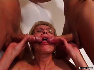 Old And Young Sex With Hot Granny