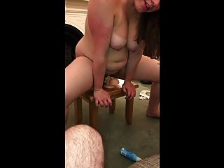My Young Slut Dps Herself With Two Large Dildos!
