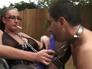 Femdom,humilation And Strapon Play