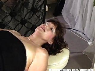 Brunette Mature Bartender Anal Fucked By Customer