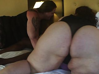 Swtfreak And Kittynationbbw Get 11in Cock