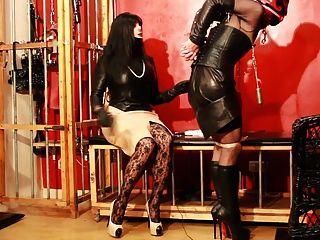 Leather In Kim Kardashian Style