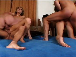 Classic Hot Group Anal Dp Bang