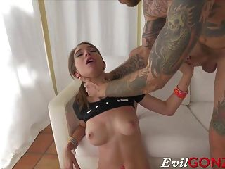 Cute Babe Gets Her Warm Pussy Destroyed