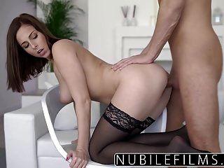 Nubilefilms - Big Tit Step Sis Wants My Cock