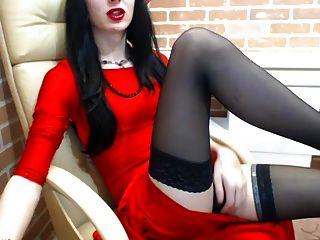 Charlize Webcam Tease