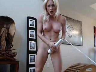 Blonde Webcam Goddess 28 - Another Hitachi Orgasm