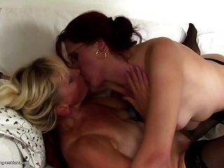 Granny And Milf Fuck And Piss On Each Other