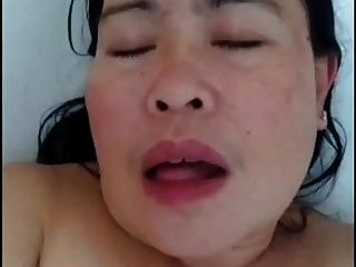 Naughty Milf Philippino Helper Orgasm