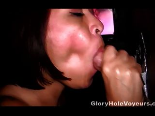 3 Real Gloryhole Cum Shots