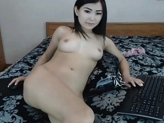 Hot Flawless Asian Beauty Masturbating