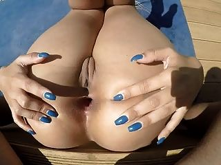 Hot Blonde Amateur Ass Fucked And Gaped