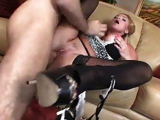 Ebony pornstar bondage