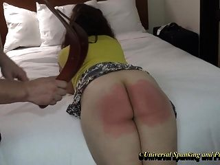 The Spanking Punishment Of An Angel