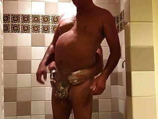 Shower Handjob