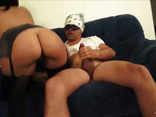 Scambisti Maturi - Brunette Italian Babe Fucks With Mask On