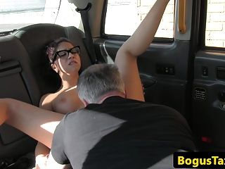 Spanish Spex Taxi Babe Arsefucked By Cabbie