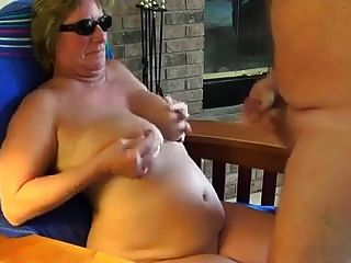 Mature Mom Janet Takes Her First Cock After Her Divorce