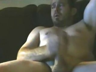 Handsome Muscluar With Nice Smile Jerking Off