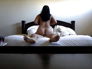 Asian Wife Riding Cock Big Ass Moaning And Cumming