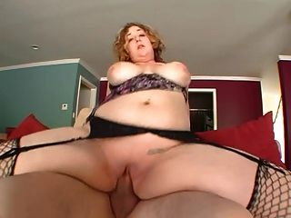 Fat Ass Teacher Takes Big Cock And She Loves It