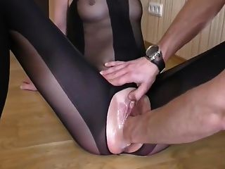 Slim Girl Fisted And Squirting