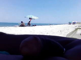 Flashing Dick To Public Beach