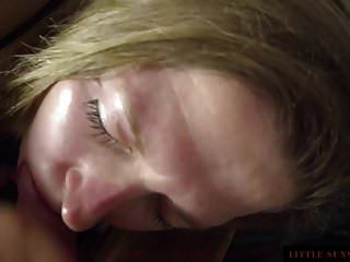 Blonde Mature Cum In Mouth And Swallow Cum
