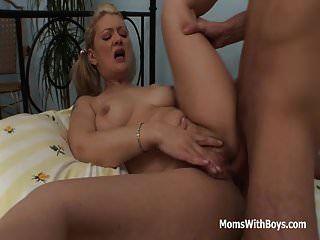 Pretty Mom And Stepson Gets Horny Over Porn