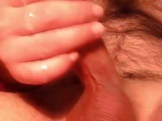 ALYSON: Cum shower close up