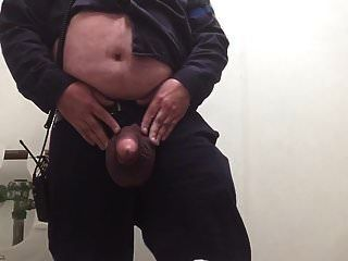 Playing With My Big Balls At Work