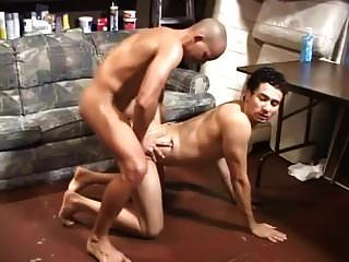 Fucking His Gay And Piss In His Ass