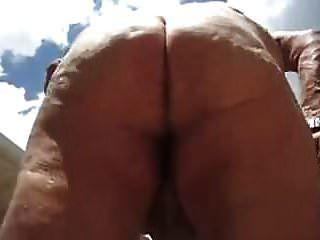 Sexy Grandpa Shows The Body