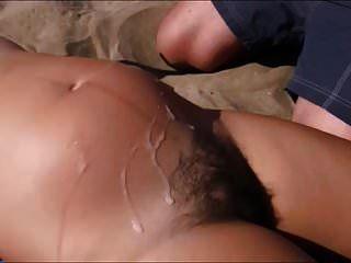 4 Cum Dumps On Hair Preg Girl On Beach
