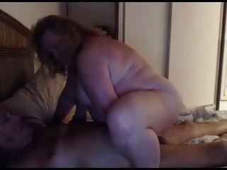 Grandpa And Grandma Play On Webcam