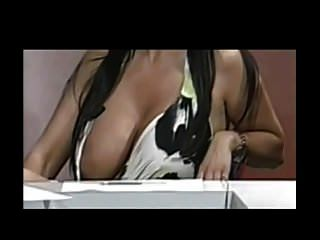 Big Tits Slip On Tv